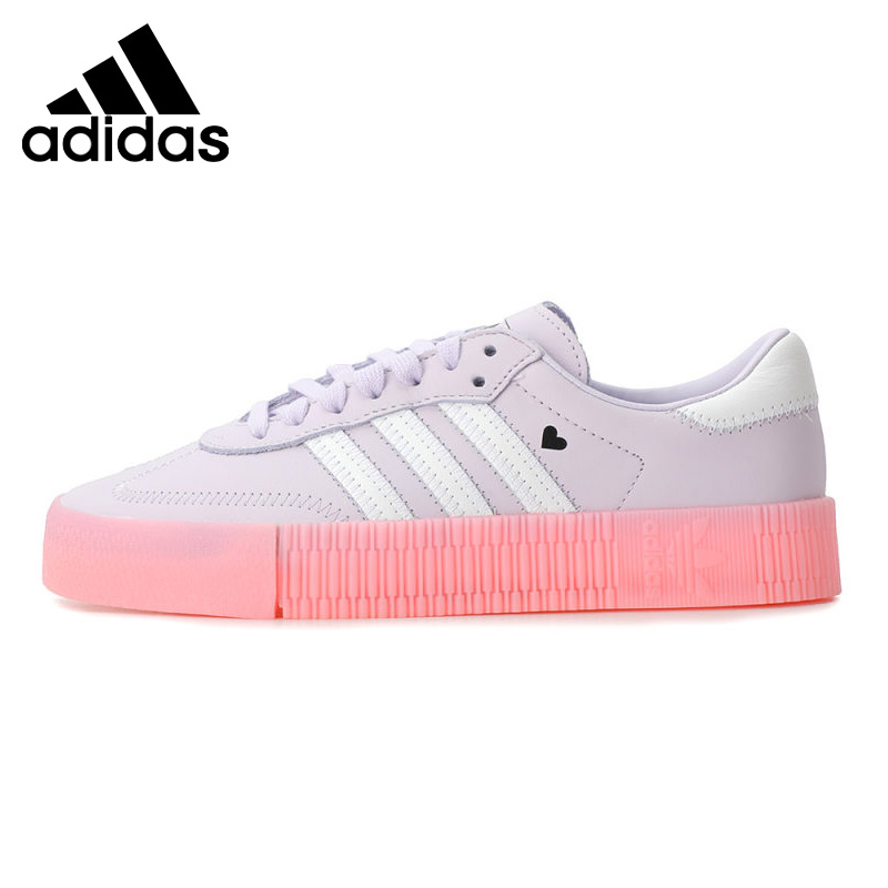 US $130.93 31% OFF|Original New Arrival Adidas Originals SAMBAROSE W  Women's Skateboarding Shoes Sneakers|Skateboarding| - AliExpress