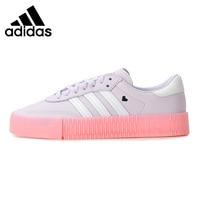 Original New Arrival Adidas Originals SAMBAROSE W Women's Skateboarding Shoes Sneakers