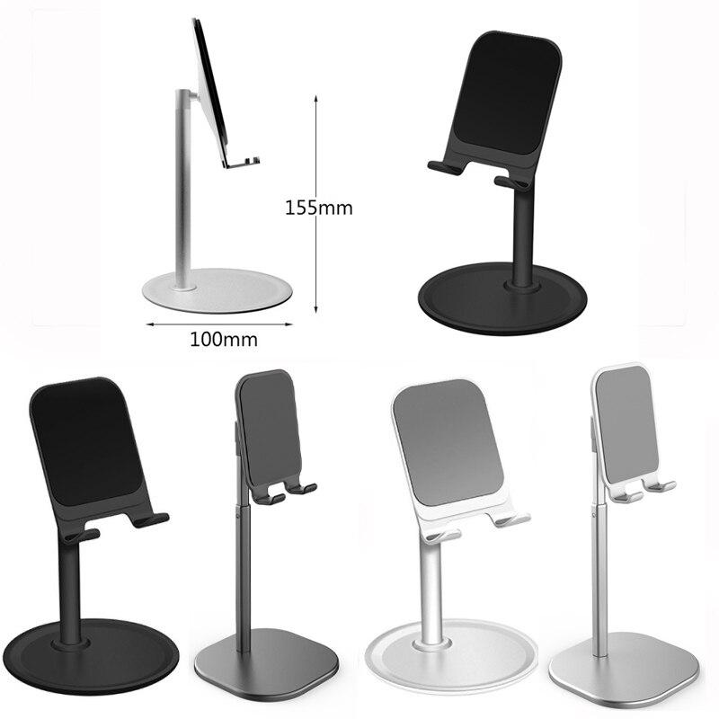 Balight Universal Lazy Telescopic Phone Desk Support For Mobile Phone Mount Office Home Desk Holder Aluminium Alloy