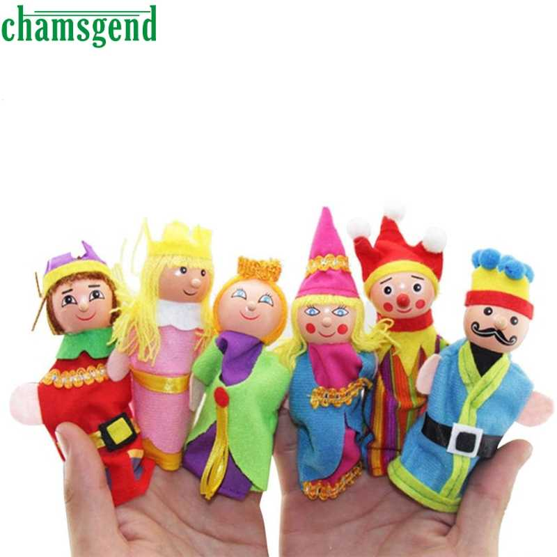 6PCS Finger Toys Hand Puppets Christmas Gift Refers To Accidentally Toy 9.27