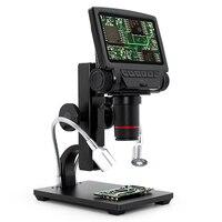 Andonstar-microscopio Digital para reparación de teléfono, herramienta de soldadura con USB, ADSM301, HDMI/AV, de larga distancia