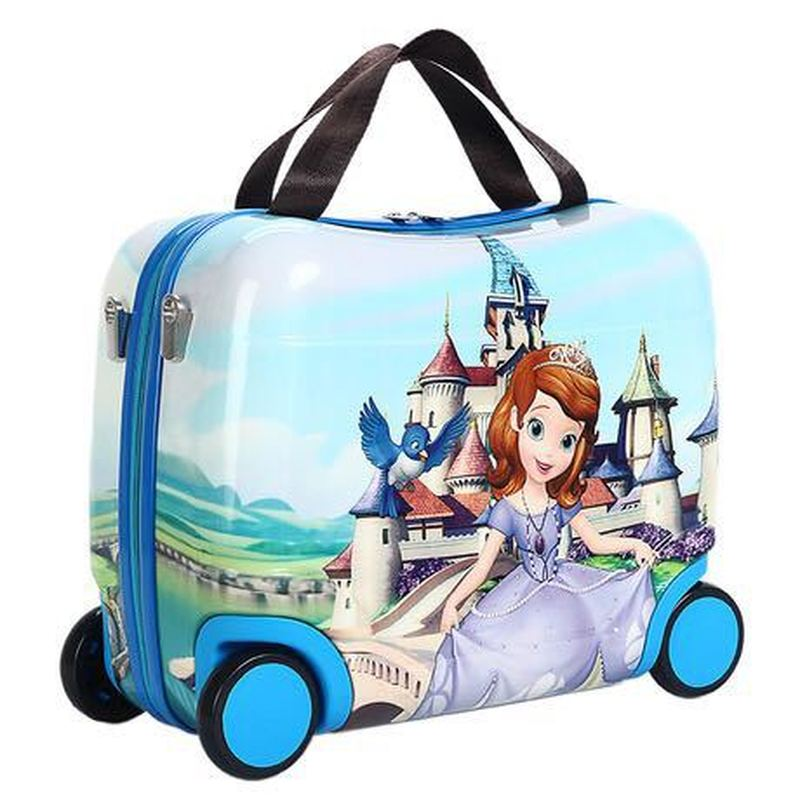 Travel-Bag Luggage Baby Children's Hot Toy-Box Can-Sit-Can-Ride Gifts Female Creative