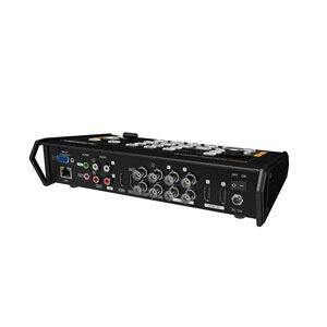 Image 5 - Avmatrix VS0601 מיני 6CH SDI/HDMI רב פורמט וידאו Switcher עם GPIO ממשק עבור לחיות טלי מערכת