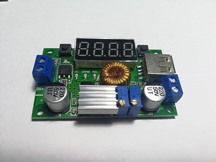 5A Constant Voltage Constant Current Step-down Module With Voltage And Current Power Display LED Drive Lithium Battery Charging