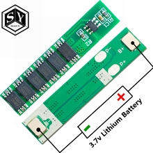 GREAT IT 1S 15A 3.7V Li-ion 6MOS BMS PCM Battery Protection Board PCM for 18650 Lithium