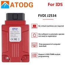 FVDI J2534 ل vcm 2 لمازدا ل IDS فورسكان أداة تشخيصية أفضل من ELS27 ELM327 VCM II