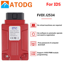 FVDI J2534 vcm 2 mazda için IDS Forscan teşhis aracı daha iyi ELS27 ELM327 VCM II