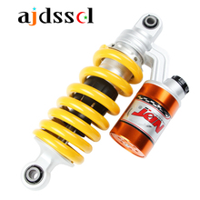 Universal 240mm Motorcycle/Scooter/ATV Rear Suspension Rebound Damping Round Shock Absorbers for Honda MSX125 Yamaha 100CC/125CC
