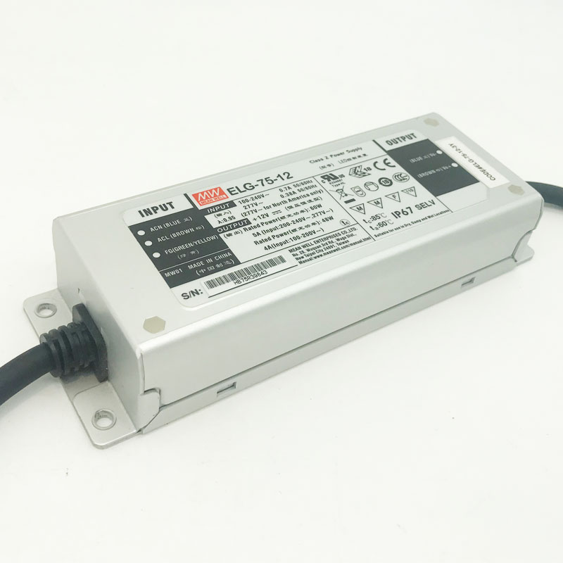 UL CE <font><b>MeanWell</b></font> IP67 waterproof led driver 75W <font><b>100W</b></font> 150W 200W 240W power supply CE 12V <font><b>24V</b></font> dc lighting transformer image