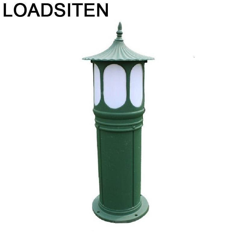 2018 De Lampara Lamp Outdoor Luce Para Lighting Tuin Verlichting Decoracion Jardin Exterior Tuinverlichting Led Garden Light Lawn Lamps     - title=