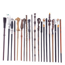 27 Kinds Metal Core Magic Wands Cosplay Voldmort Hermione Magical Wand without Box