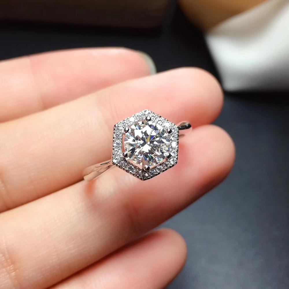 Moissanite Rings Color D Vvs1 Gra And
