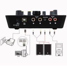 1 Set Upod Pro Professional External Sound Card Microphone 48V USB 2.0 Recording Interface for Mobile Phone PC Karaoke Live