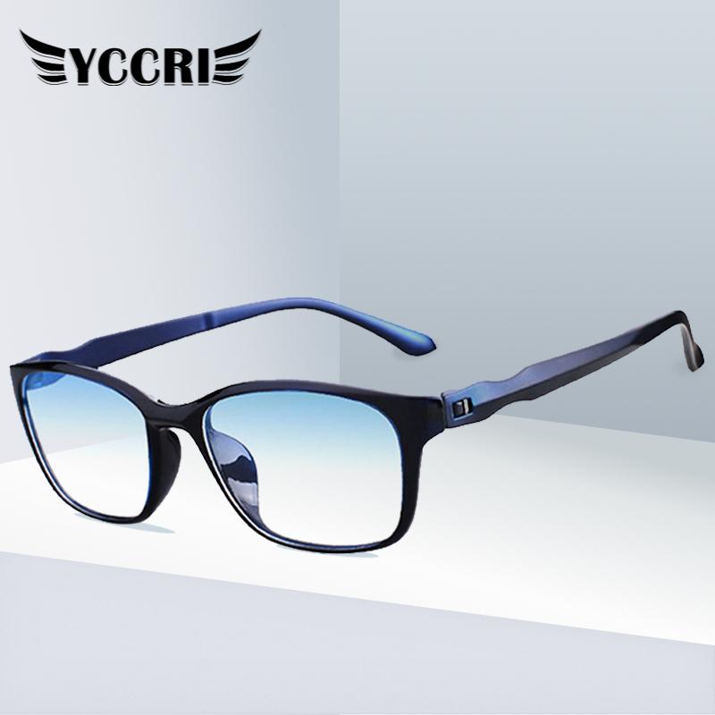 2020 Anti Blue Glasses TR90 Anti fatigue Computer Eyewear Hyperopia Eyeglasses Men Reading Glasses Oculos Feminino 0 +400