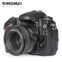 YONGNUO YN50mm F1.8 عدسة فتحة كبيرة السيارات التركيز عدسات لنيكون D5300 D5200 D5100 D3300 D3200 D800 D700 D300 DSLR عدسة الكاميرا