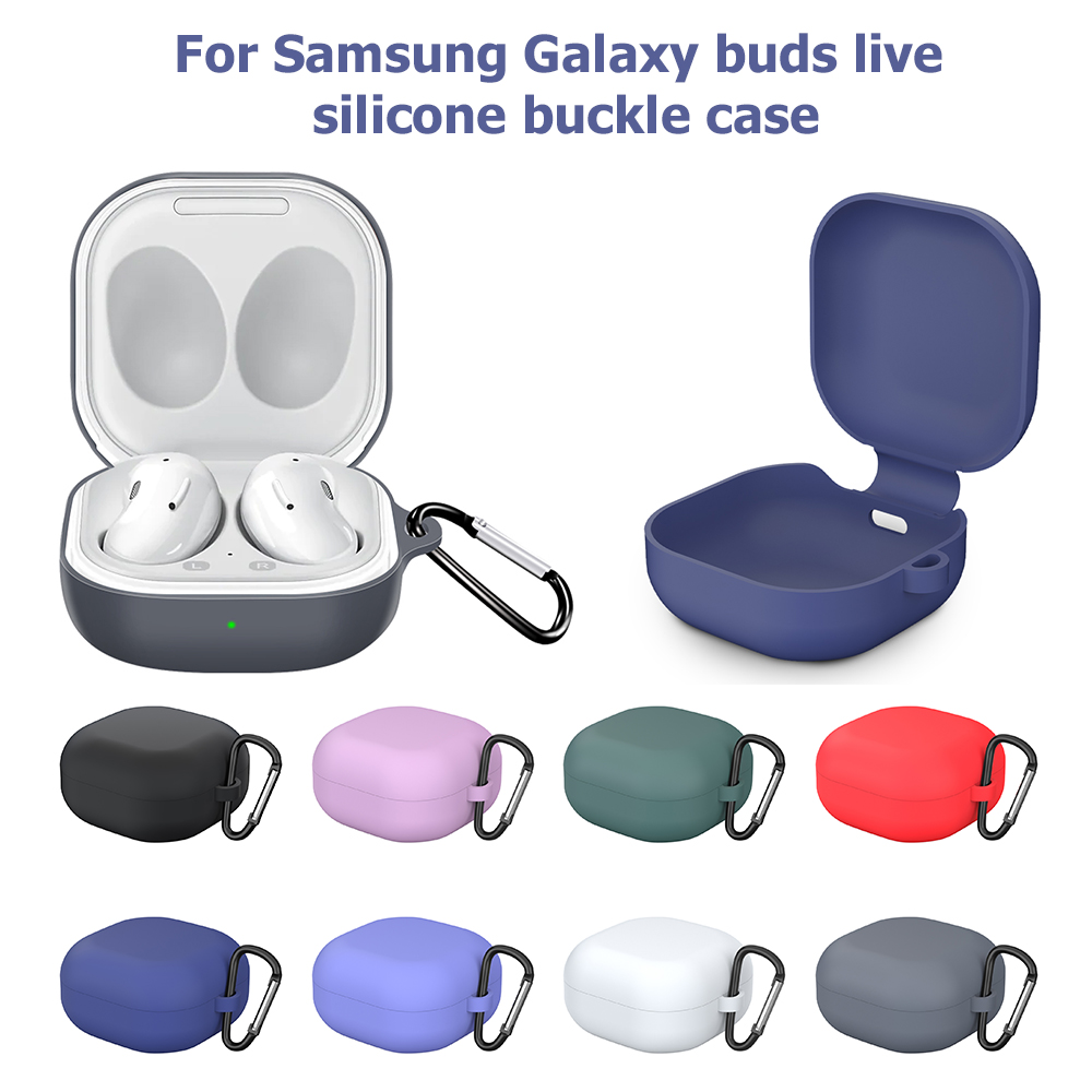 Силиконов защитен калъф за Samsung Galaxy Buds - Преносимо аудио и видео - Снимка 6