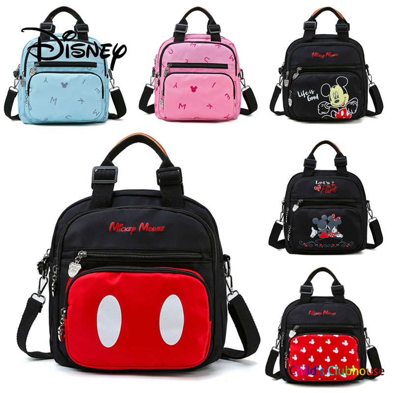Disney Mickey Mouse Women Fashion Mummy Maternity Nappy Bag Backpack Nursing Bag For Baby Care Baby Bottle Insulation Diaper Bag