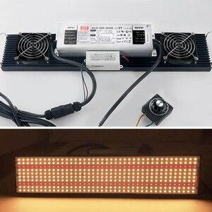 Image 4 - סופר מואר 240W 480W 720W סמסונג LM301B LM301H Dimmable LED לוח UV IR led לגדול אור Meanwell נהג 7 שנים אחריות
