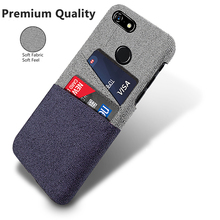 Luxury Card Holder Case for Google Pixel 3A TPU Cloth Business Back XL  Phone Cover