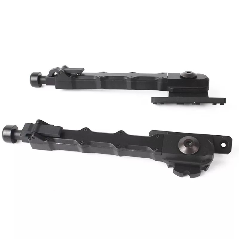 Tactical Support Tripod With Side Mount, Heavy Duty, Lightweight, Adjustable Side Folding Legs