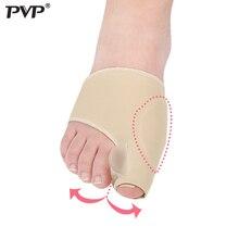 PVP 2Pcs=1Pair Toe Separator Hallux Valgus Bunion Corrector Orthotics Thumb Bone Adjuster Correction Pedicure Sock Straightener toe separator hallux valgus bunion corrector orthotics feet bone thumb adjuster correction pedicure sock straightener