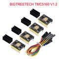 BIGTREETECH TMC5160 V1.2 SPI מנוע צעד נהג 6-שכבה לוח VS TMC2208 TMC2209 3D מדפסת חלקי אנדר 3/5 SKR V1.3 פרו