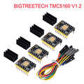 BIGTREETECH TMC5160 V1.2 SPI Stepper Motor Driver 6-layer Board VS TMC2208 TMC2209 3D Printer Parts For Ender 3/5 SKR V1.3 Pro