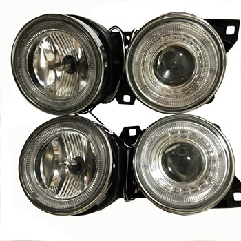 LH&RH Pair Headlight For BMW E30 M40 Front Head Lamp Light Car Lights Assembly Daytime Running 1984-1991 image