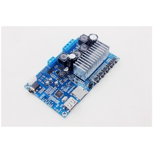 Image 3 - TPA3116 50W + 50W Bluetooth 5.0 Audio Stereo Digitale versterker board FM Radio USB Decoderen speler Afstandsbediening controle