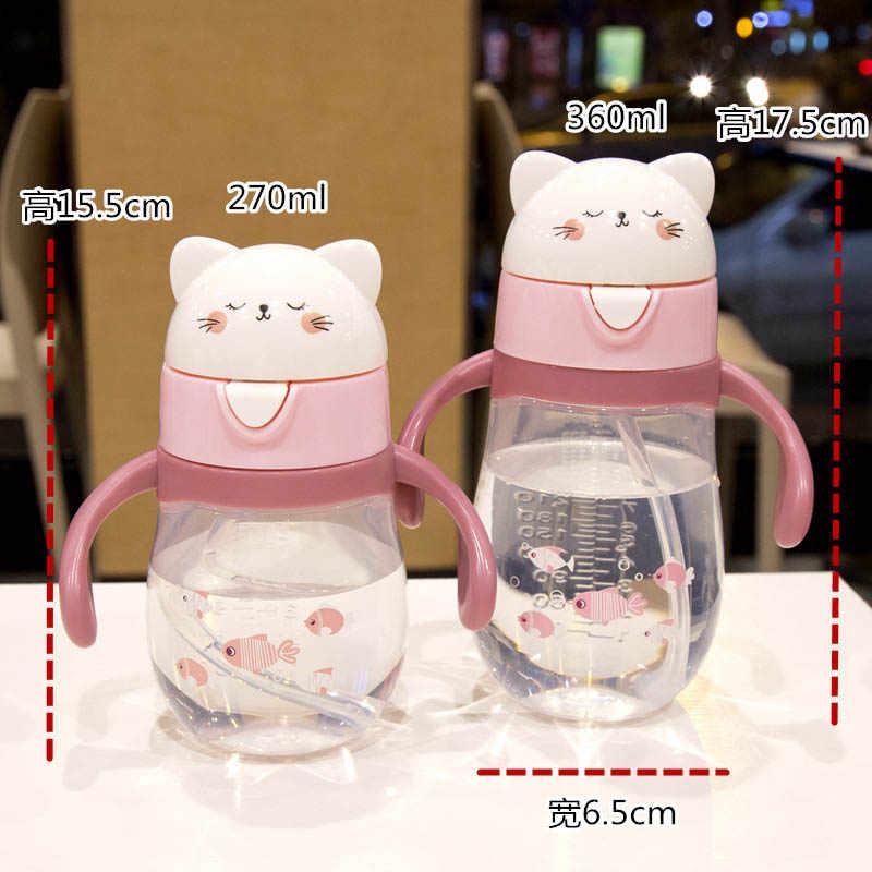 חם תינוק בקבוק אנטי קוליק אוויר Vent רחב צוואר טבעי סיעוד האכלת בקבוק עבור תינוק BPA משלוח 270ml תינוק טיפול בקבוק