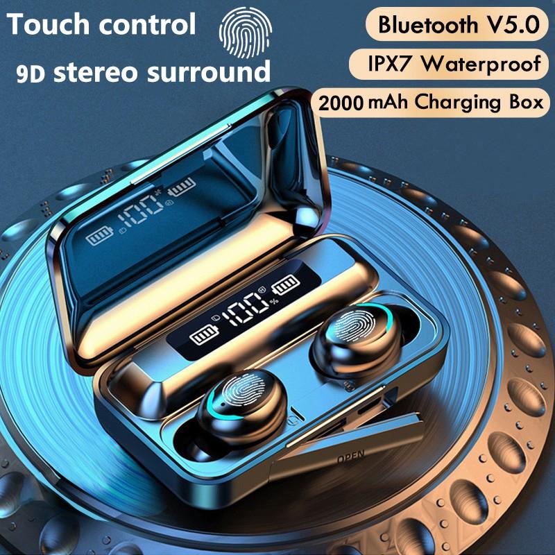Mini TWS Wireless Earphones Stereo 5.0 Bluetooth Headphones In Ear Earbuds Handsfree Binaural Call Headset For iPhone Xiaomi