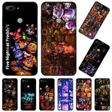 Funda de teléfono fnaf five nights at freddy de alta calidad para Huawei Honor 7C 7A 8X 8A 9 10 10i Lite 20 NOVA 3i 3e(China)