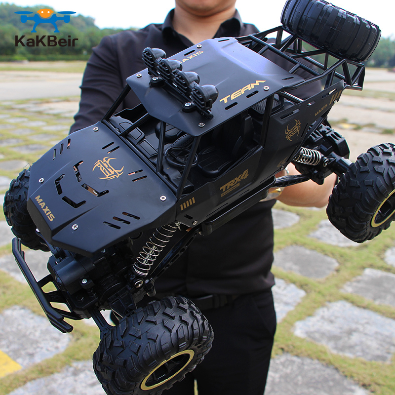 <font><b>RC</b></font> Car 4WD 2.4GHz climbing Car 4x4 Double Motors Bigfoot Car Remote Control Model Off-Road Vehicle Toy <font><b>drift</b></font> car nitro <font><b>rc</b></font> car image