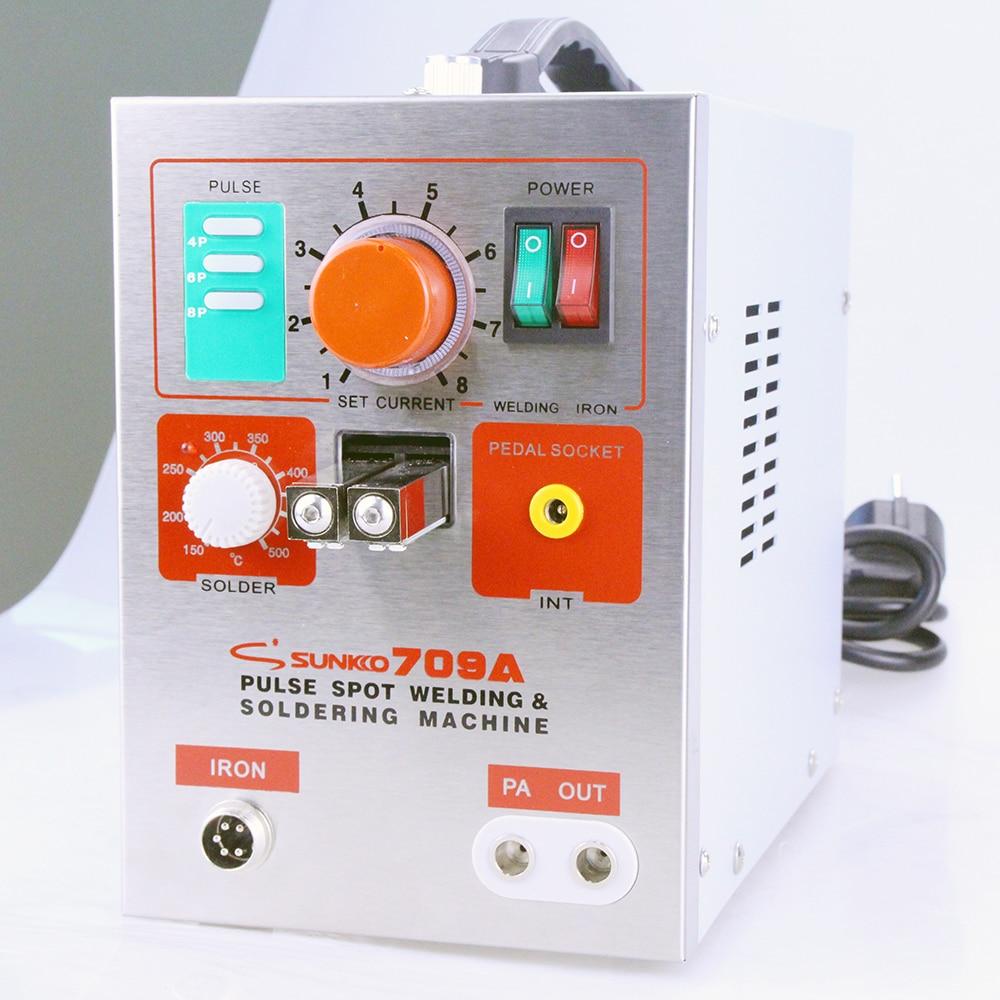 1Pc Sunkko Spot Welding Pen 70B For Battery Spot Welder New Tools 709A 709A px