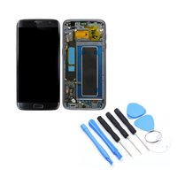 For Samsung Galaxy S7 Edge G935F LCD Display Digitizer Assembly Frame Mobile Phone Replacement Parts