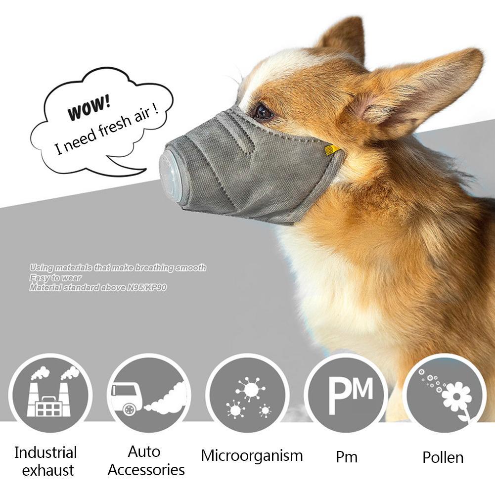 Pet Dog Mask Anti-Fog Mask Dust Mask Pet MouthCover Mask Adjustable Strap Pet Masks Dropshipping Wholesale