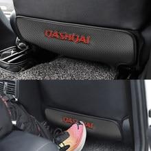 1 pièces siège de voiture dos Anti-coup coussin coussin siège arrière passager Anti-sale coup de pied pour NISSAN QASHQAI J10 J11 accessoires