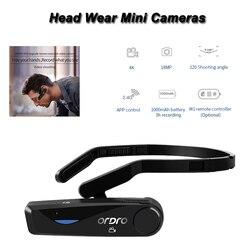 WIFI Camera digital cam 1080P HD Camcorder EP5 Head Wear Mini Camera Video Remote Control Microphone cam caneta filmadora
