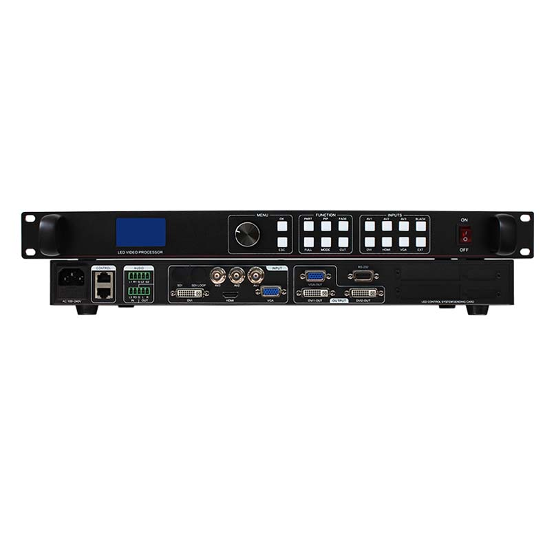 LVP613 HD видеопроцессор светодиодный экран контроллер для smd1921 smd2727 p10 p3 p3.91 p2 p6 p8 smd модуль светодиодный rgb