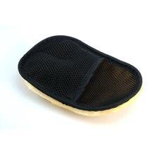 Тюнинг автомобиля шерстяные мягкие перчатки для мытья Чистящая