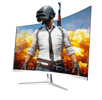 Pantalla curva de 32 pulgadas monitor hz cable VGA de alimentación 4k HD-MI