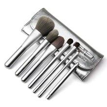 Beauty Tools Makeup Brushes Set Cosmetic Powder Foundation Blending Make Up Brush Eye Facial 7Pcs Brush with Portable Brush Bag