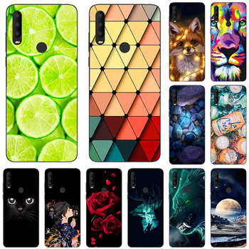 Fashion Printed Case For Alcatel 3X Alcatel3X 2019 5048U 5048 2020 Cover Cool Cute Animal Fruit Flower soft silicone Phone Case image