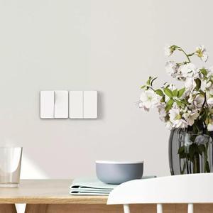 Image 4 - Xiaomi Mijia الجدار التبديل واحد/مزدوجة النار سلك مفتوحة الرقابة المزدوجة التبديل 2 طرق للمنزل Yeelight Mijia الذكية Led ضوء التبديل