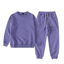 Kids Clothes Boys Sets 2021 Autumn Children's Clothing Cotton Long Sleeve Tops Pants 2 Pcs Teens Tracksuit 9 Colors Girls Set