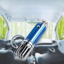 цена на Mini Car Air Purifier 12V Mini Auto Car Fresh Air Anion Ionic Purifier Oxygen Bar Ozone Ionizer Cleaner Vehicle Air Freshener #B