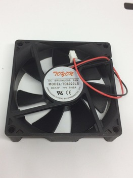 ree shipping new original  TD8020LS 12V 0.08A 8CM 80 * 80 * 20MM 2 wire quiet fan cooling fan