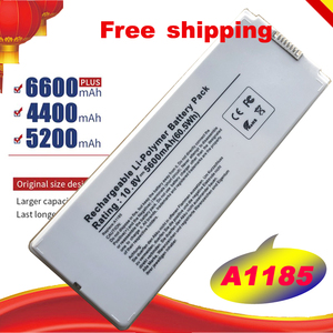 "Image 1 - New White Battery for Apple MacBook 13"" A1185 A1181 MA561 MA561FE/A MA561G/A MA254 MA255CH/A MA699B/A MB061X/A"