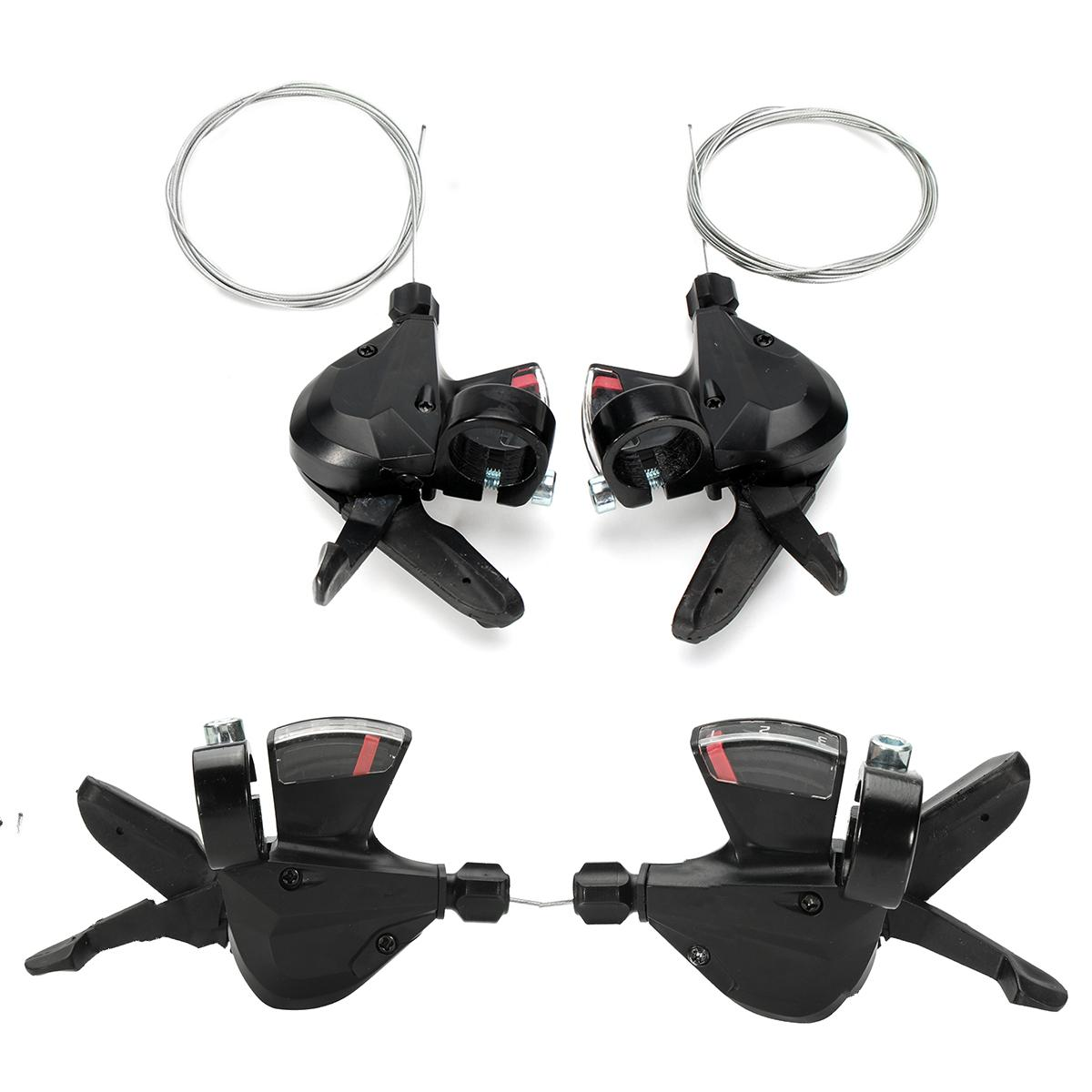 1 Pair 3x8 Speed MTB Bike Bicycle Left Right Shifter for Shimano Acera SL M310|Shifters| |  - title=