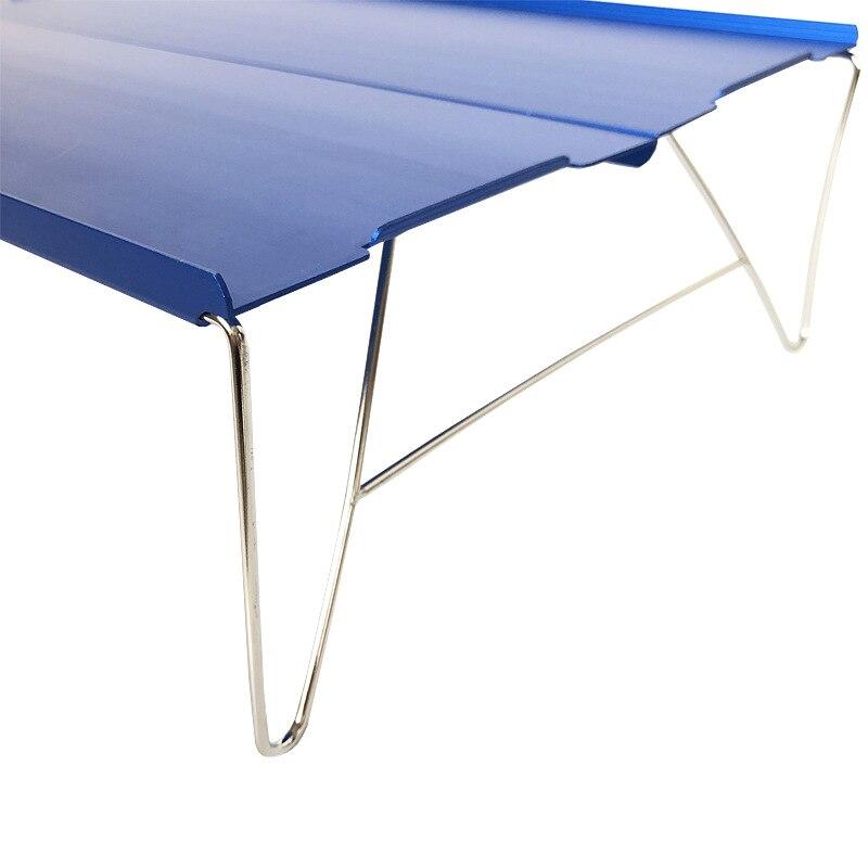Bump новые продукты открытый столик для Пикника Складной Алюминиевый сплав Альпинизм портативный стол домашний компьютерный стол